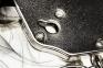 Наручники металлические с черной отделкой Adrien Lastic Handcuffs Black 0