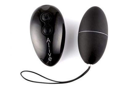 Виброяйцо Alive Magic Egg 2.0 Black