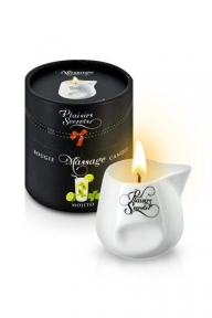 Массажная свеча Plaisirs Secrets Mojito, 80 мл