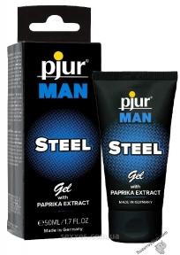 Возбуждающий крем Pjur Man Steel Gel, 50 мл