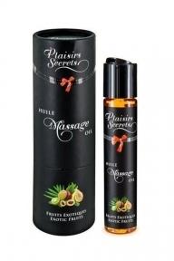 Массажное масло Plaisirs Secrets Exotic Fruits (59 мл) (дефекты на упаковке)