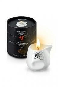Массажная свеча Plaisirs Secrets Chocolate, 80 мл