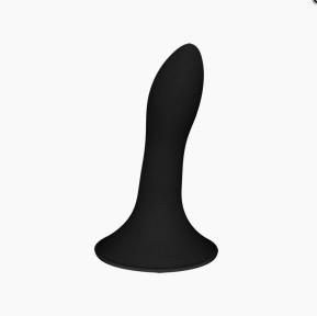 Дилдо с присоской Adrien Lastic Hitsens 5 Black, 13х2,4 см