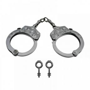 Наручники Разборные Premium Metal Romfun, Diamond (810234)