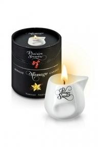 Массажная свеча Plaisirs Secrets Vanilla, 80 мл