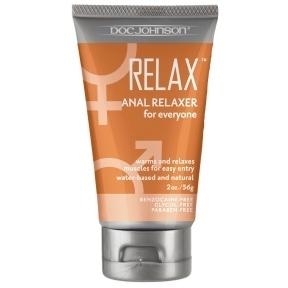 Расслабляющий гель для анального секса Doc Johnson RELAX Anal Relaxer, 60 мл
