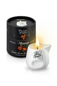 Массажная свеча Plaisirs Secrets Poppy, 80 мл