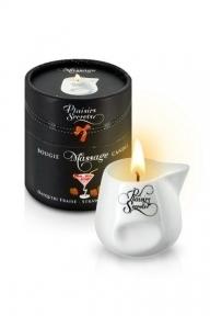 Массажная свеча Plaisirs Secrets Strawberry Daiquiri, 80 мл