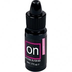 Вибрирующее масло для женщин ON Natural Arousal Oil Lite, 5 мл (810228)