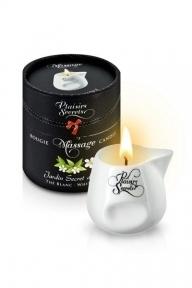 Массажная свеча Plaisirs Secrets White Tea, 80 мл