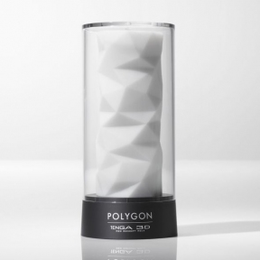 Мастурбатор Tenga 3D Polygon, 13х4 см