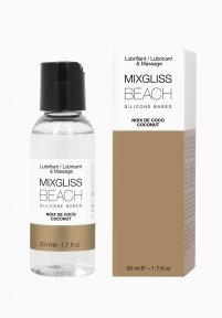 Лубрикант на силиконовой основе MixGliss BEACH - NOIX DE COCO, 50 мл
