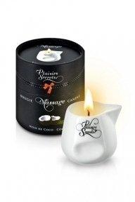 Массажная свеча Plaisirs Secrets Coconut, 80 мл