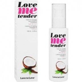 Массажное масло Love To Love LOVE ME TENDER Noix De Coco, 100 мл