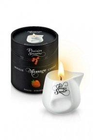 Массажная свеча Plaisirs Secrets Strawberry, 80 мл
