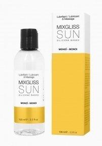 Лубрикант на силиконовой основе MixGliss SUN MONOI