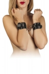 Наручники Leather Dominant Hand Cuffs, black (280151)