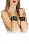Наручники Leather Restraints Hand Cuffs, black (280157)