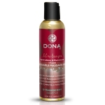 Массажное масло DONA Kissable Massage Oil Strawberry Souffle, 110 мл